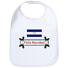 Honduras Feliz Navidad Bib