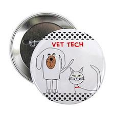 """Vet Tech pillow 2.25"""" Button"""