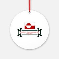 Greenland Juullimi.. Keepsake Ornament