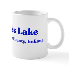 i love bass lake sticker Mug