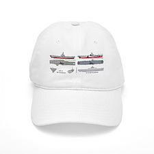 USS Ticonderoga CV-14 CVA-14 Baseball Cap