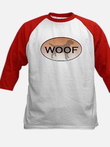 Labrador Woof Kids Baseball Jersey