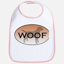 Labrador Woof Bib