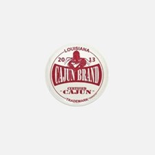 Cajun Brand Mini Button