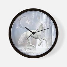 wu2_Woven Throw Pillow_1181_H_F Wall Clock