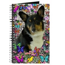Sebastian the Welsh Corgi in Butterflies Journal