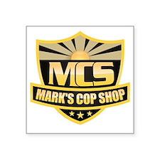 "MCS Design Square Sticker 3"" x 3"""