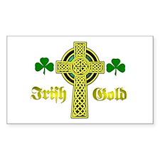 Irish Gold.:-) Rectangle Decal