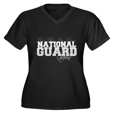 National Guard Girlfriend Women's Plus Size V-Neck