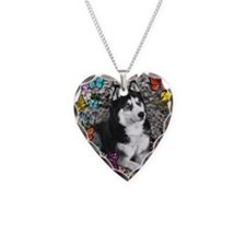 Irie the Siberian Husky in Bu Necklace