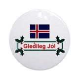 Iceland christmas Ornaments