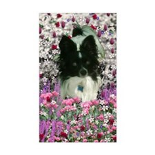 Matisse the Papillon in Flower Decal