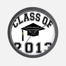 Class Of 2013 Knowledge Wall Clock