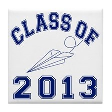 Class Of 2013 Aviation Tile Coaster