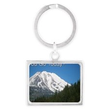 RVing Where Did You Go Today? Landscape Keychain