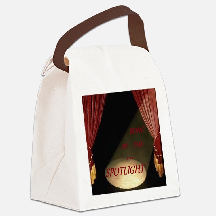 Being in the spotlight Canvas Lunch Bag