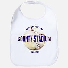 No Place Like County Bib
