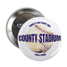 No Place Like County Button