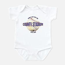 No Place Like County Infant Bodysuit