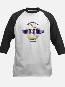 No Place Like County Kids Baseball Jersey