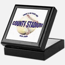 No Place Like County Keepsake Box