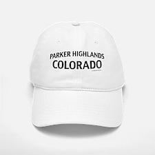 Parker Highlands Colorado Baseball Baseball Cap