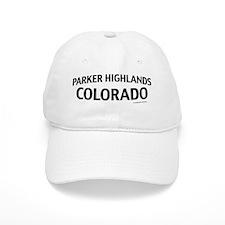 Parker Highlands Colorado Baseball Cap