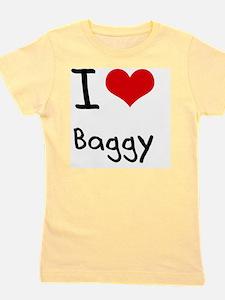 I Love Baggy Girl's Tee