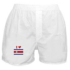 I love Costa Rica Boxer Shorts