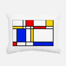 Mondrian Rectangular Canvas Pillow