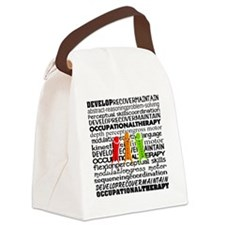 OT all over Canvas Lunch Bag