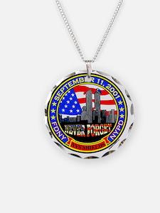 New York State Shields  Logo Necklace