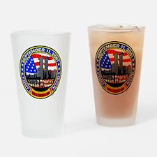 New York State Shields  Logo Drinking Glass