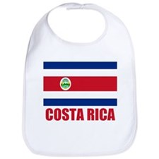 Costa Rica Flag Bib