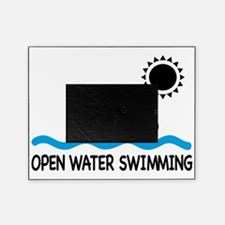 open water swimming Picture Frame