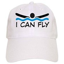 butterfly swimming Baseball Baseball Cap