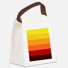 Stripes Canvas Lunch Bag