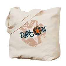 Dawson Band Star logo Orange Tote Bag