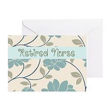 Retired Nurse Pillow 10 Greeting Card