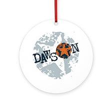 Dawson Band Star logo Round Ornament