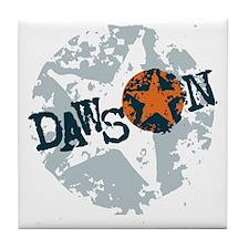 Dawson Band Star logo Tile Coaster