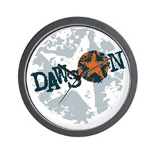 Dawson Band Star logo Wall Clock