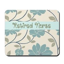 Retired Nurse Pillow 10 Mousepad