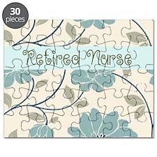 Retired Nurse Pillow 10 Puzzle