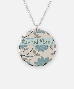 Retired Nurse Pillow 10 Necklace