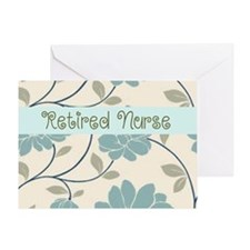 Retired Nurse Pillow 10 Greeting Card