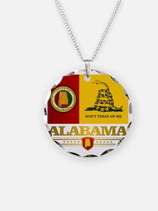 Alabama Gadsden Flag Necklace