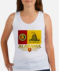Alabama Gadsden Flag Women's Tank Top