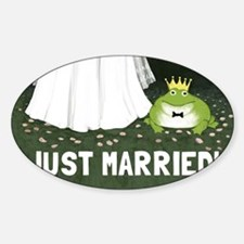 justmarriedfrog Decal