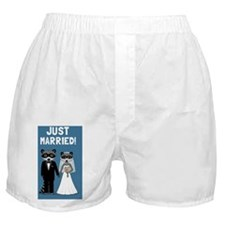 justmarriedcoonscarmagnet Boxer Shorts